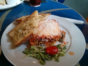 Spinach and Risotto Lasagna